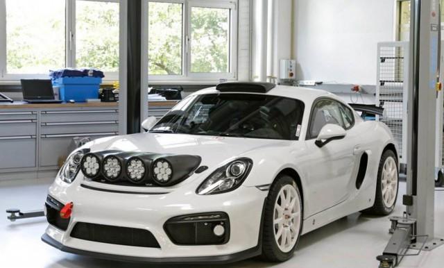 Porsche kehrt zur Rallye zurück
