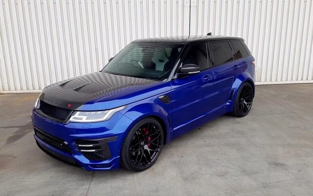 Unternehmen Lumma adjusted Range Rover Sport SVR