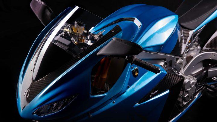 Lightning Strike ist ein neues elektrisches Motorrad erhältlich.