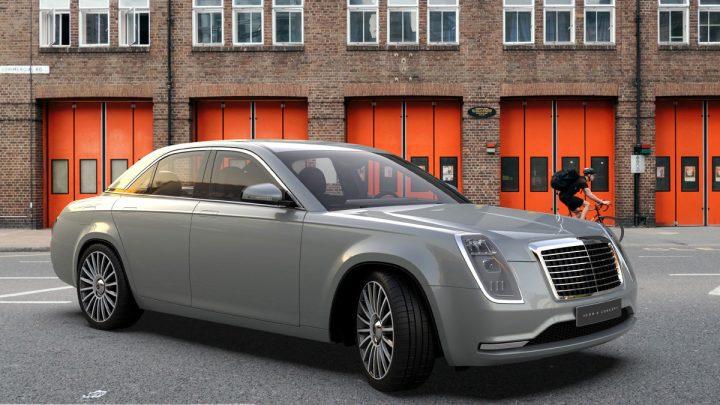 Der deutsche Designer zeigte, wie der legendäre Mercedes W115 heute aussehen könnte.