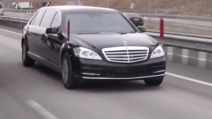 Woher Kim Jong-Un den Mercedes-Benz gebracht hat, versteht Daimler nicht.