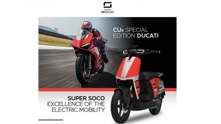 Ducati beginnt mit dem Verkauf eines Elektrorollers, der die langsamste Ducati aller Zeiten werden wird.