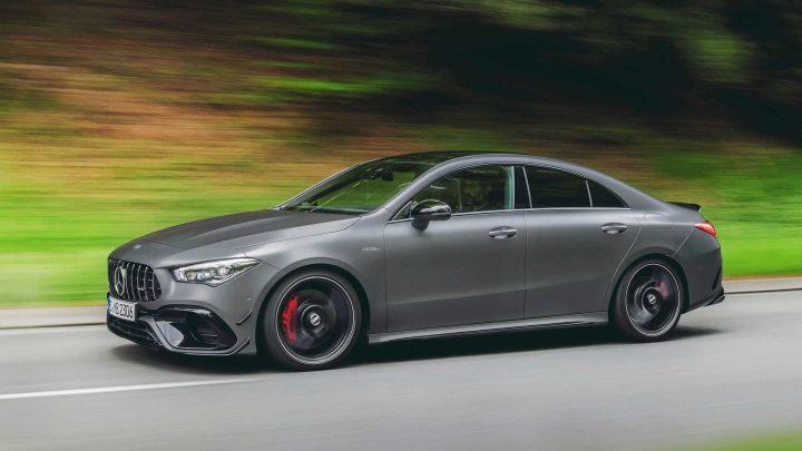 Mercedes-AMG stellte A45 und CLA45 mit bis zu 421 PS vor.