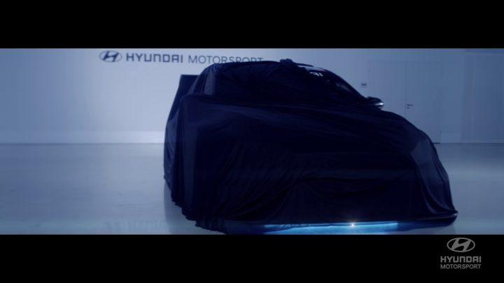 Hyundai präsentiert in Frankfurt seinen ersten vollelektrischen Rennwagen.