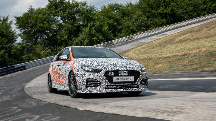 Der limitierte Hyundai i30 N C wird auf der Frankfurter Automobilausstellung vorgestellt.