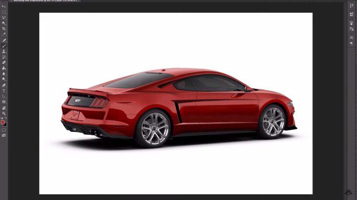 So sieht der Ford Mustang mit dem Motor in der Mitte aus.