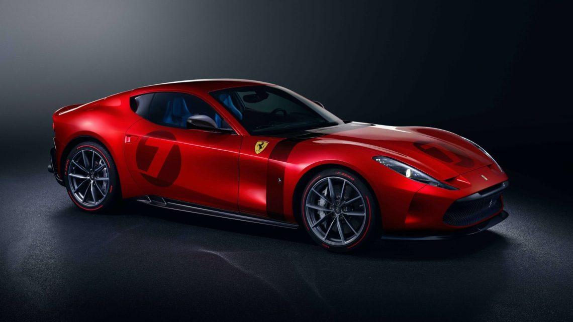 Ferrari Omologata ist dank eines Stücks ein exklusives Auto.