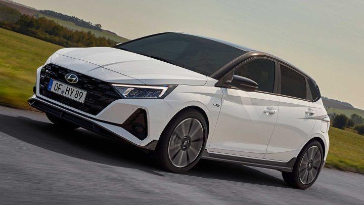 Der Hyundai i20 erhielt eine sportliche N-Line-Modifikation.