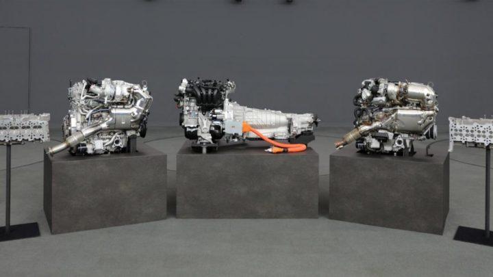 Mazda hat einen neuen Reihensechszylinder vorgestellt.