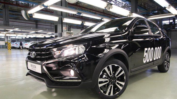 Lada hat bereits 500.000 Stück des Vesta-Modells produziert.