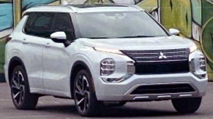 Der neue Mitsubishi Outlander wird in wenigen Monaten vorgestellt.