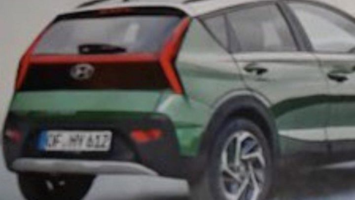 Der neue Hyundai Bayon wird durch ein Leck aufgedeckt. Was wird es bieten?