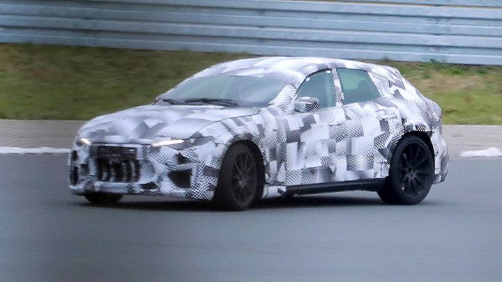 Ferrari testet weiterhin den Purosanque. Jetzt spielt der Maserati Levante.