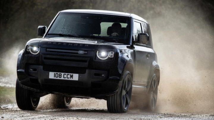 Land Rover Defender ist ein richtiger Achtzylinder mit höherer Leistung.