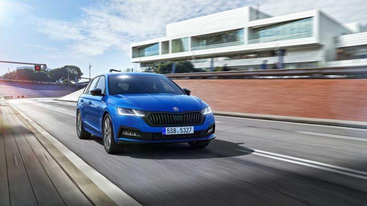 Der Škoda Octavia hat jetzt auch eine Sportline-Version.
