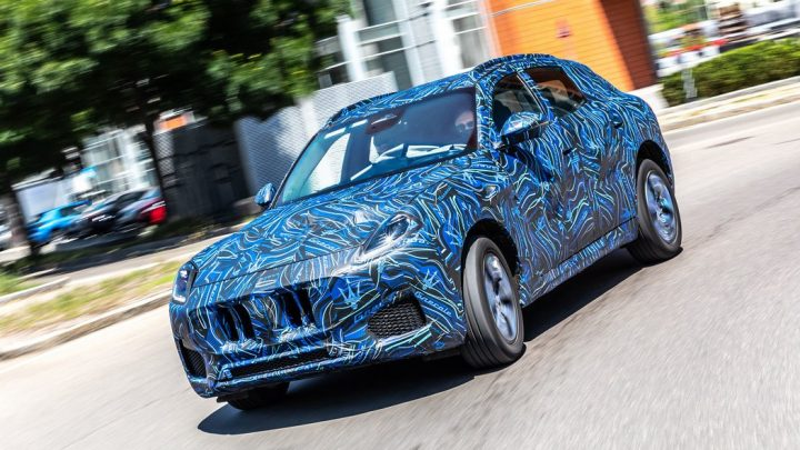 Der neue Maserati Grecale soll im November vorgestellt werden.