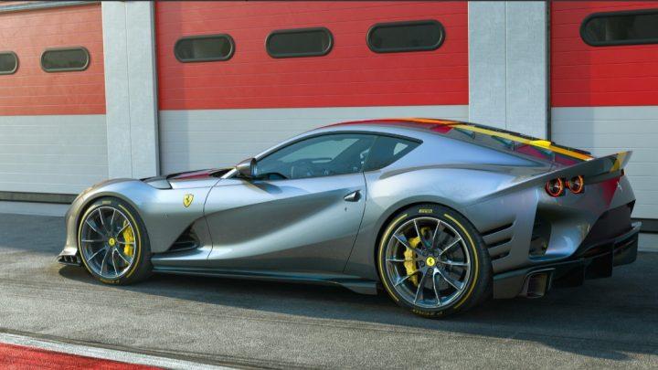 Der Ferrari 812 Competizione erhielt einen Hochgeschwindigkeits-Zwölfzylinder mit brutaler Leistung.