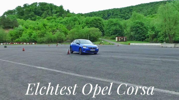 Der Opel Corsa hat ein sicheres Fahrwerk | Elchtest | 4k |