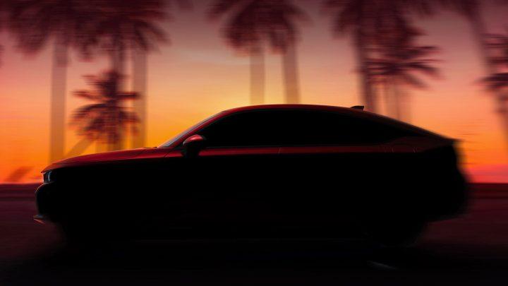 Honda hat ein Foto des Civic Schrägheck der neuen Generation veröffentlicht.