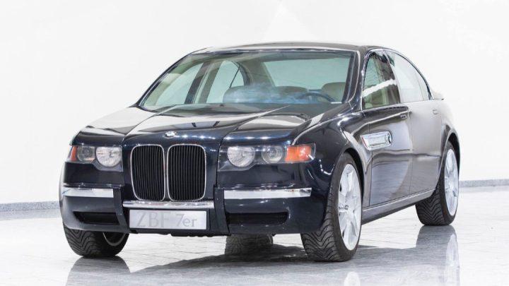 Dieser BMW 7er aus dem Jahr 1996 wurde erst jetzt der Weltöffentlichkeit enthüllt.