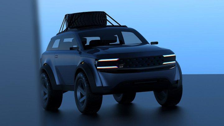 So wurde der neue Lada Niva von Designer Tokhtar Abdrakhmanov entworfen.
